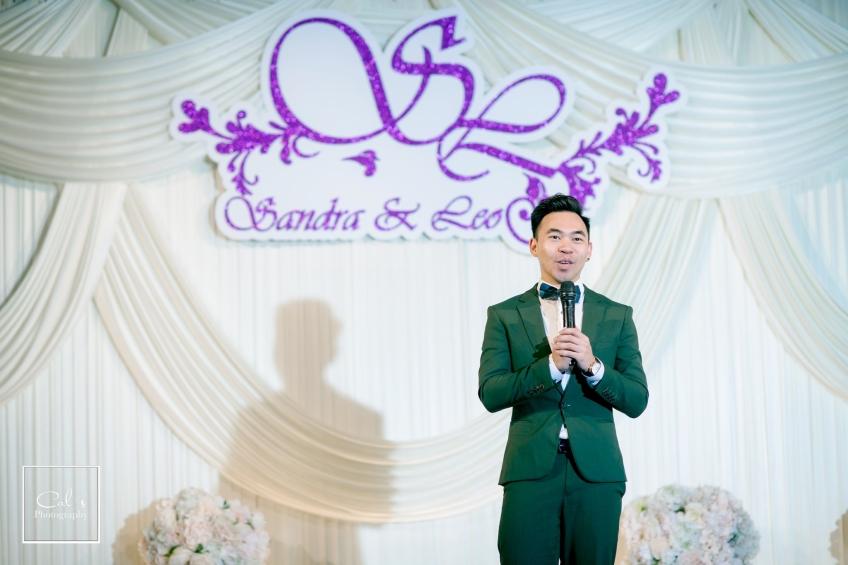 MC Peter Yuen-2-婚禮當日
