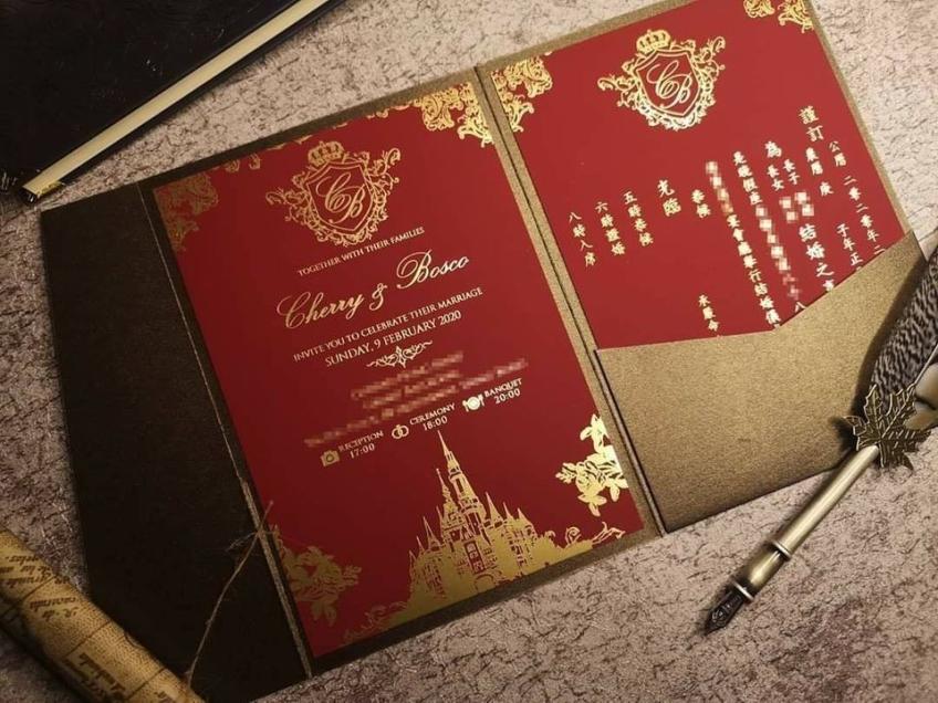 Sweet in Heart Wedding 喜帖設計-3-婚禮服務
