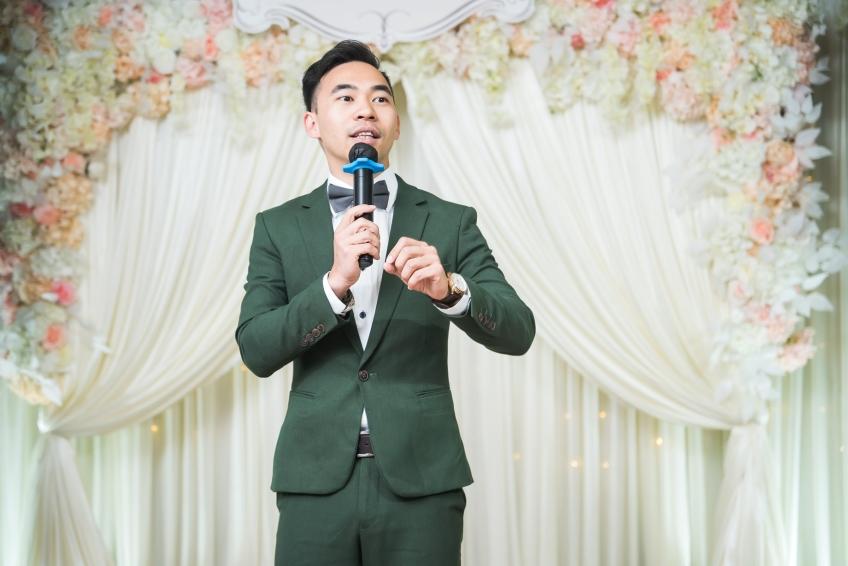 MC Peter Yuen-4-婚禮當日