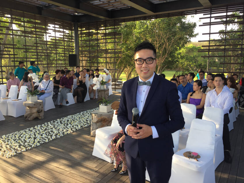 Wedding MC Tim Lau-4-婚禮服務
