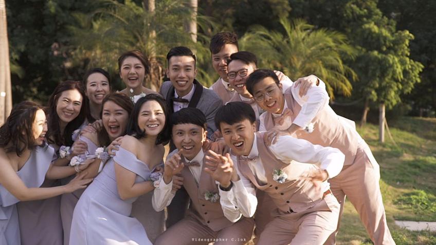 C.lok-1-婚禮當日