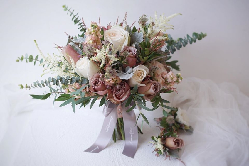 Lemongrass Wedding Floral & Accessories-1-婚禮當日