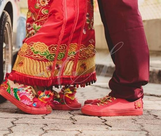 Something thine wedding shoes-0-婚紗禮服