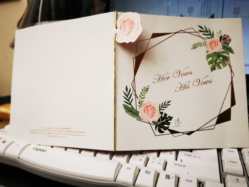 樂怡印刷燙金 Lok Yee Printing-4-婚禮服務
