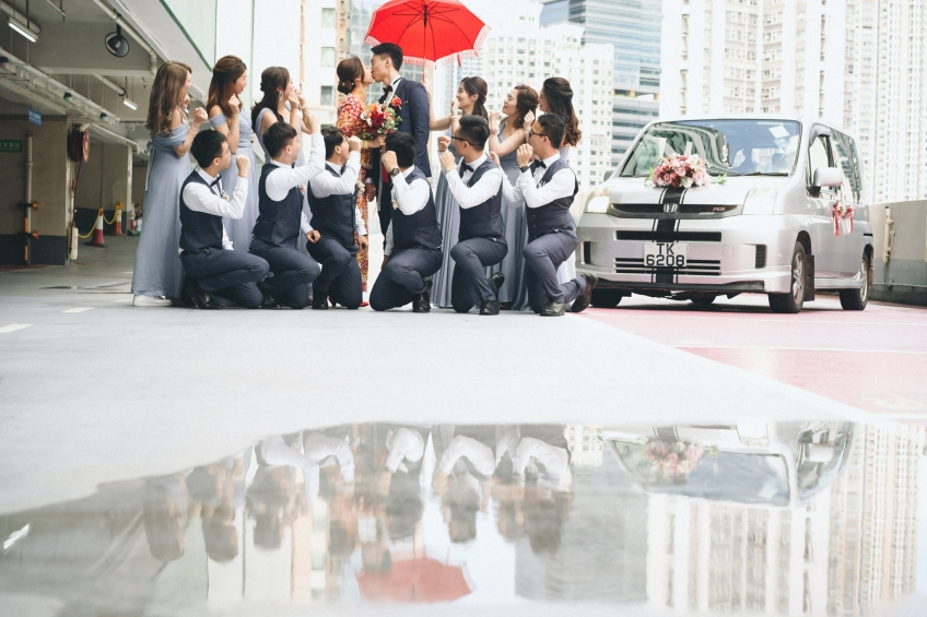 虢樑 Stein Image-4-婚禮當日