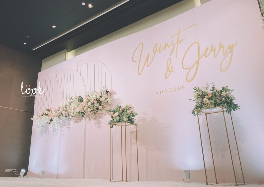 LOOK AT ME - Wedding Decoration 婚禮佈置-3-婚禮當日