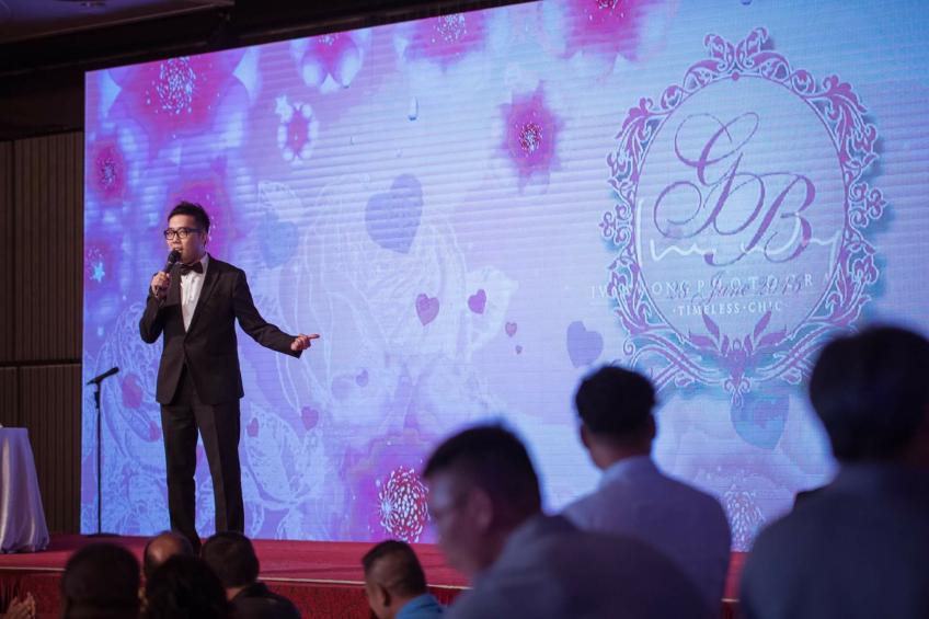 Wedding MC Tim Lau-3-婚禮服務