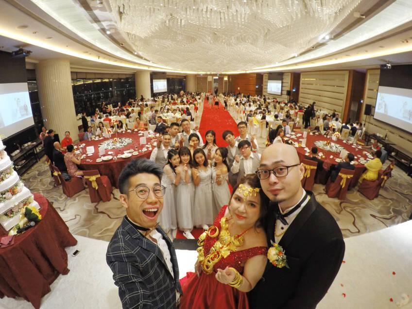 Oliver Lee - Wedding MC & Magician 婚禮司儀及魔術師-0-婚禮當日