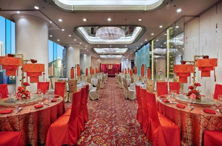 富豪香港酒店 Regal Hongkong Hotel-4-婚宴場地