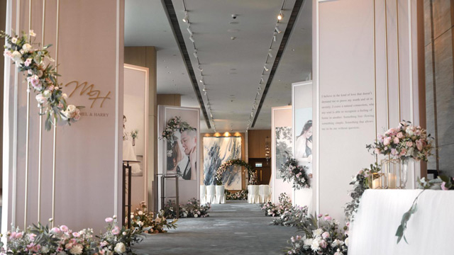FREE CONCEPT WEDDING DECORATION-1-婚禮當日