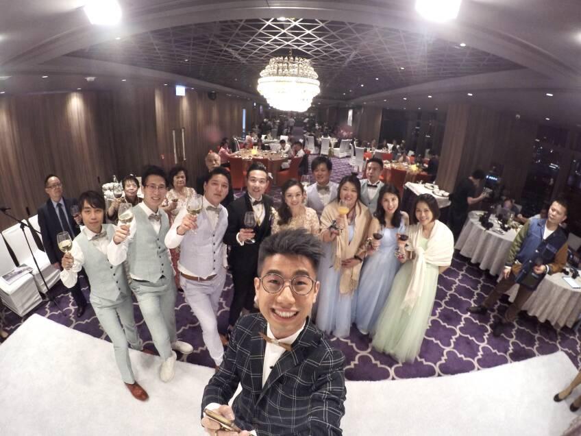 Oliver Lee - Wedding MC & Magician 婚禮司儀及魔術師-3-婚禮當日