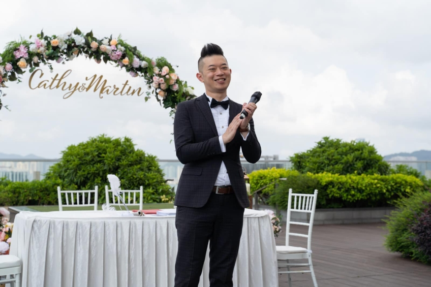 MC Roy Tang-Wedding planner-4-婚禮當日