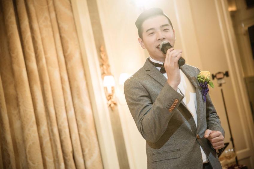 Wedding MC Jacky Poon 婚禮司儀-1-婚禮當日