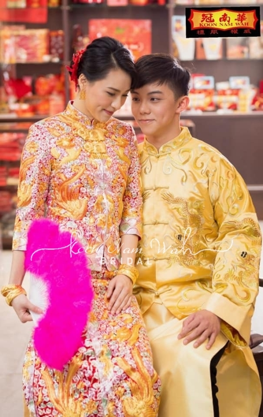 冠南華 Koon Nam Wah Bridal-4-婚紗禮服