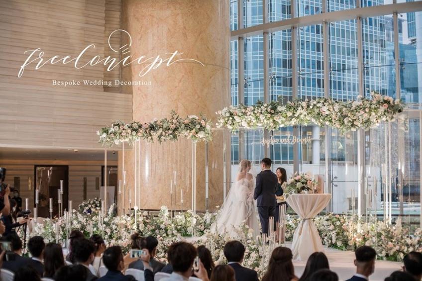 FREE CONCEPT WEDDING DECORATION-0-婚禮當日