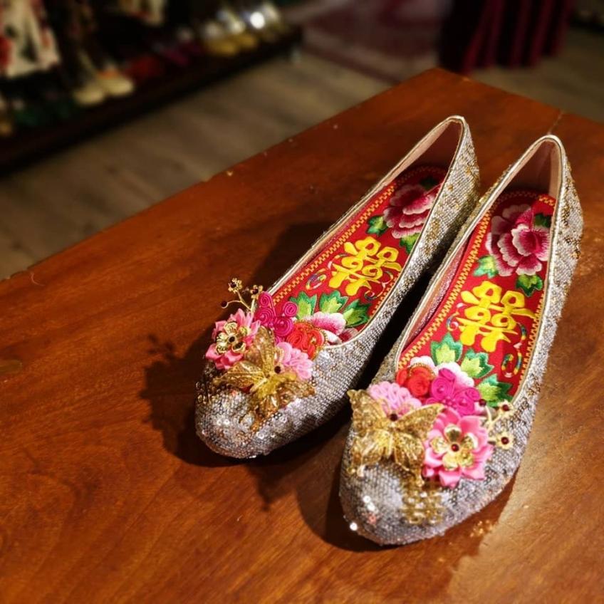 Something thine wedding shoes-4-婚紗禮服