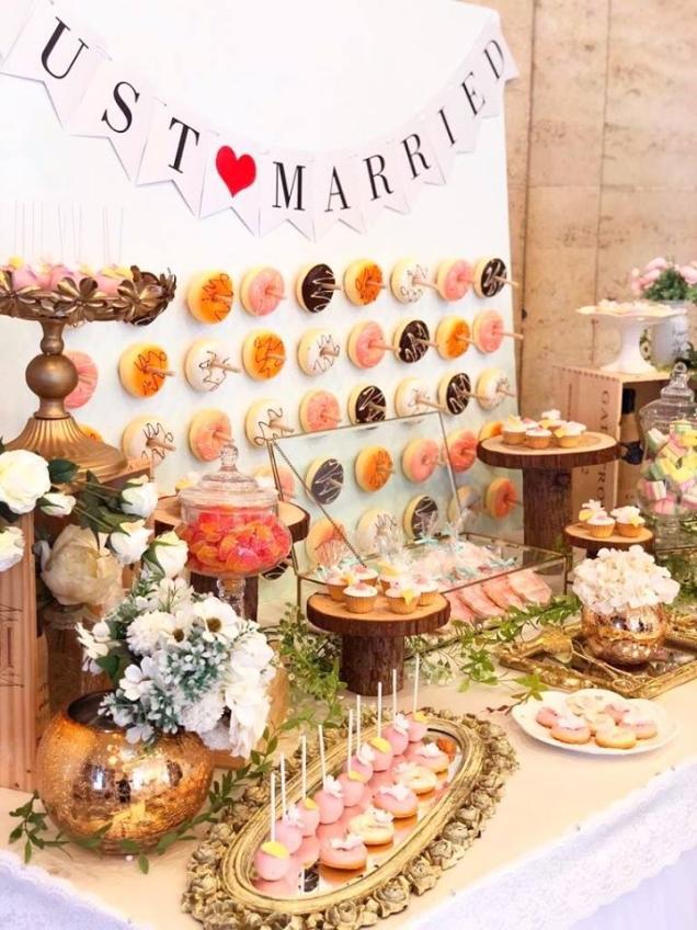 Icy's Florist- wedding cake, 3D cake, baby cake-3-婚禮當日