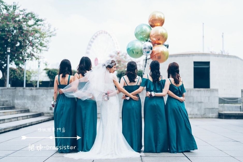 裙姊 Dressister - 姊妹裙專門店-0-婚紗禮服