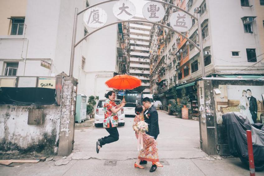 囍成雙Ling姐-4-婚禮當日