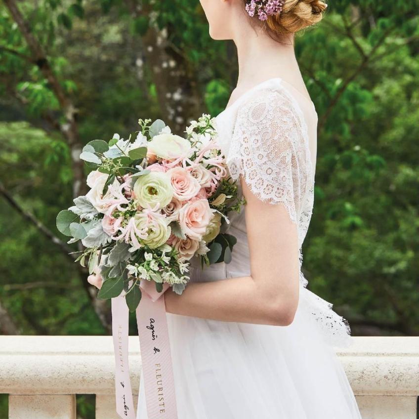 agnès b. Fleuriste (IFC)-0-婚禮當日