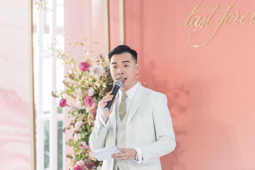 Wedding MC Jacky Poon 婚禮司儀-2-婚禮當日