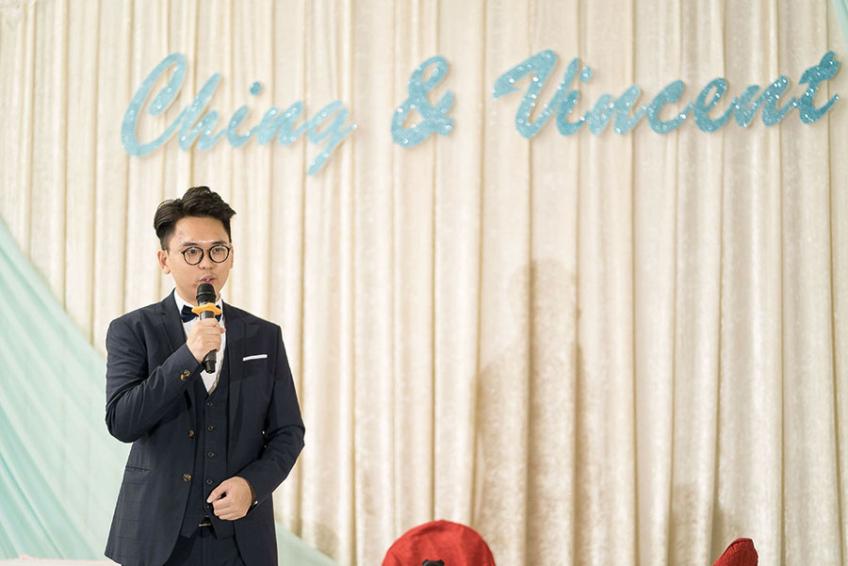 MC Leo Ho-0-婚禮當日