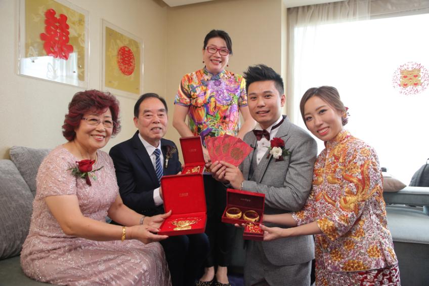 囍成雙Ling姐-1-婚禮當日