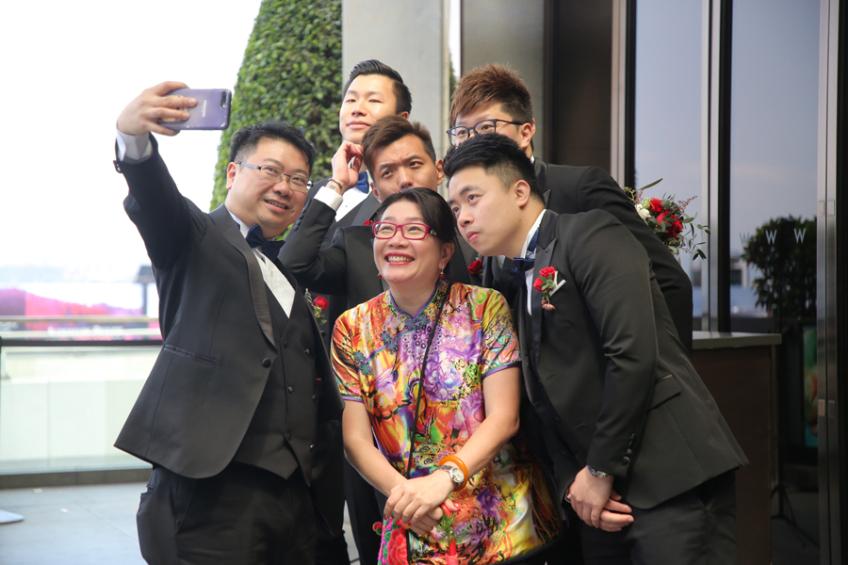 囍成雙Ling姐-3-婚禮當日