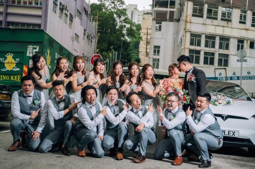 2 Become 1 Wedding 喜喜婚嫁-2-婚紗禮服