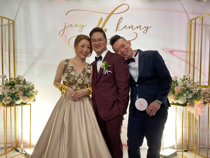MC Roy Tang-Wedding planner-2-婚禮當日
