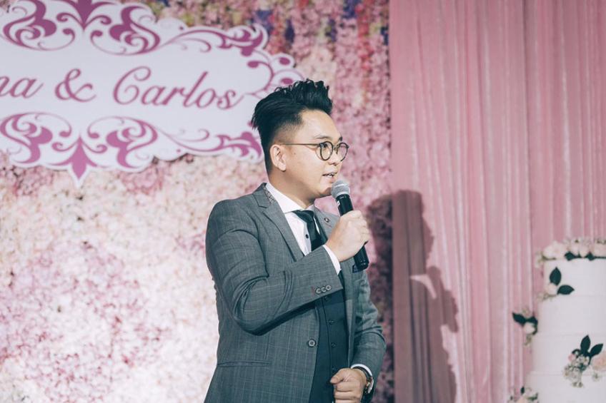 MC Leo Ho-1-婚禮當日