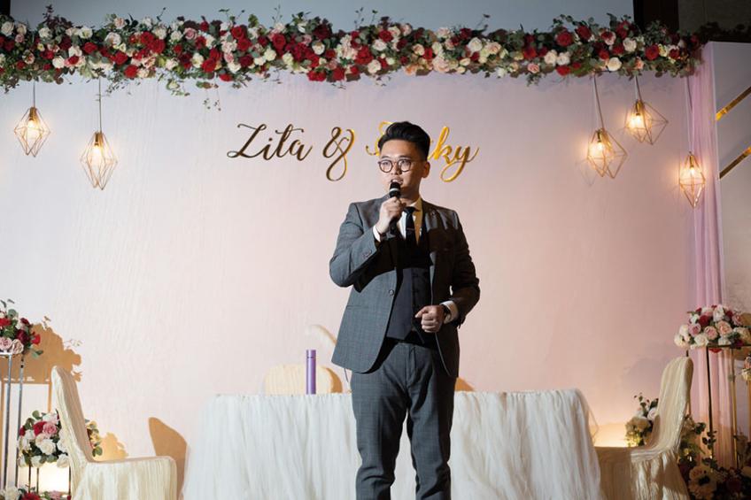 MC Leo Ho-4-婚禮當日