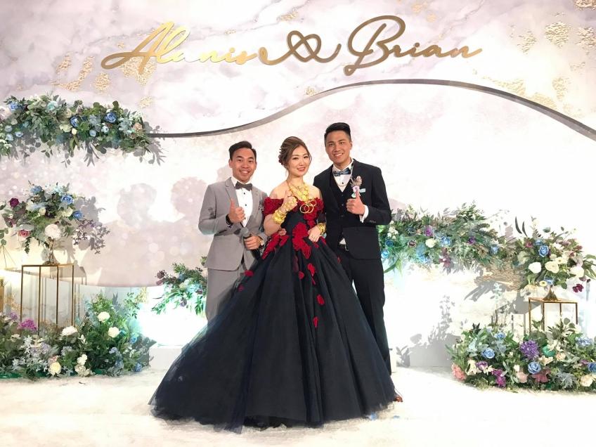 MC Peter Yuen-3-婚禮當日