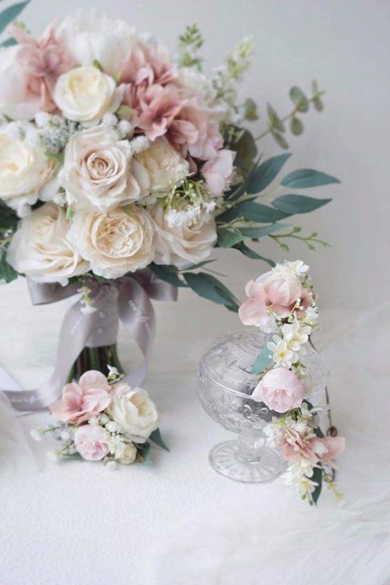 Lemongrass Wedding Floral & Accessories-3-婚禮當日