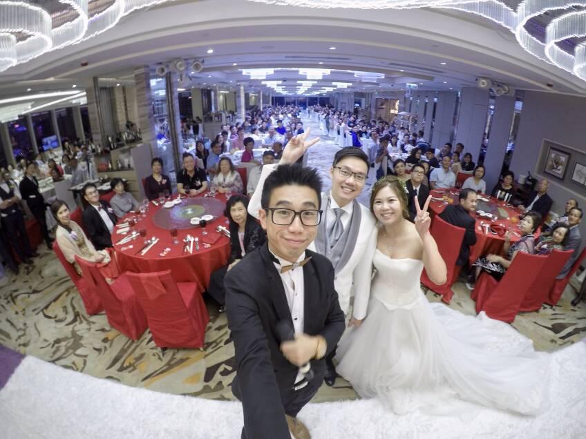 Oliver Lee - Wedding MC & Magician 婚禮司儀及魔術師-1-婚禮當日