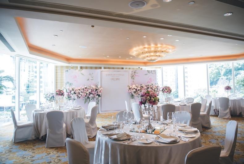 香港港麗酒店 Conrad Hong Kong-4-婚宴場地