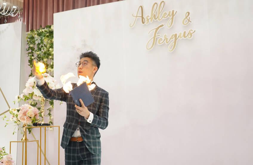 Oliver Lee - Wedding MC & Magician 婚禮司儀及魔術師-4-婚禮當日