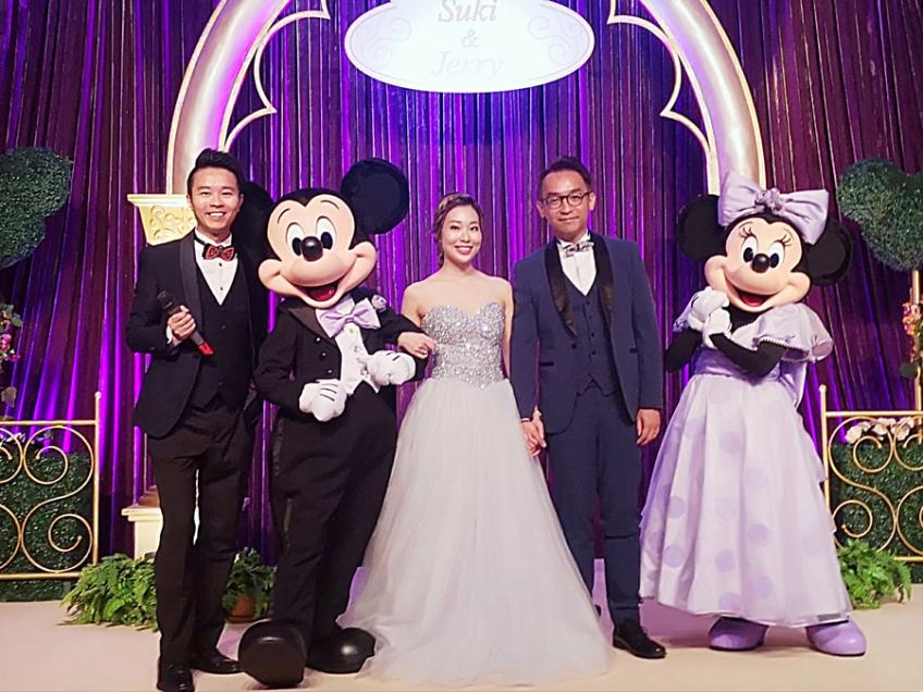 Wedding MC Jack-2-婚禮當日