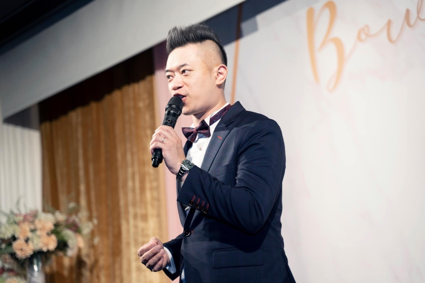 MC Roy Tang-Wedding planner-1-婚禮當日
