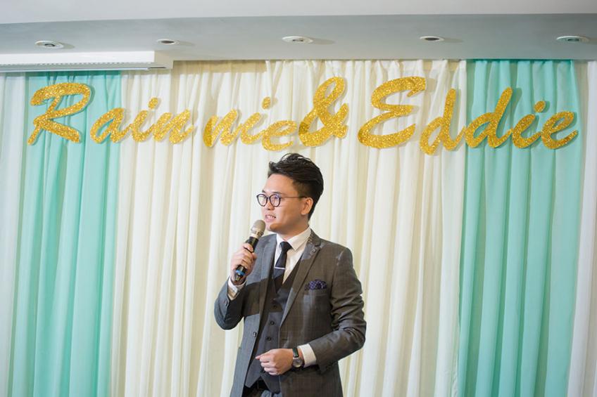 MC Leo Ho-2-婚禮當日
