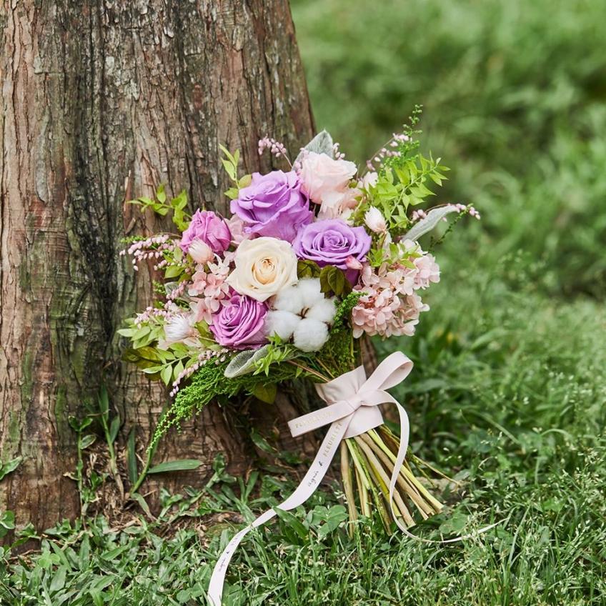 agnès b. Fleuriste (又一城)-1-婚禮當日