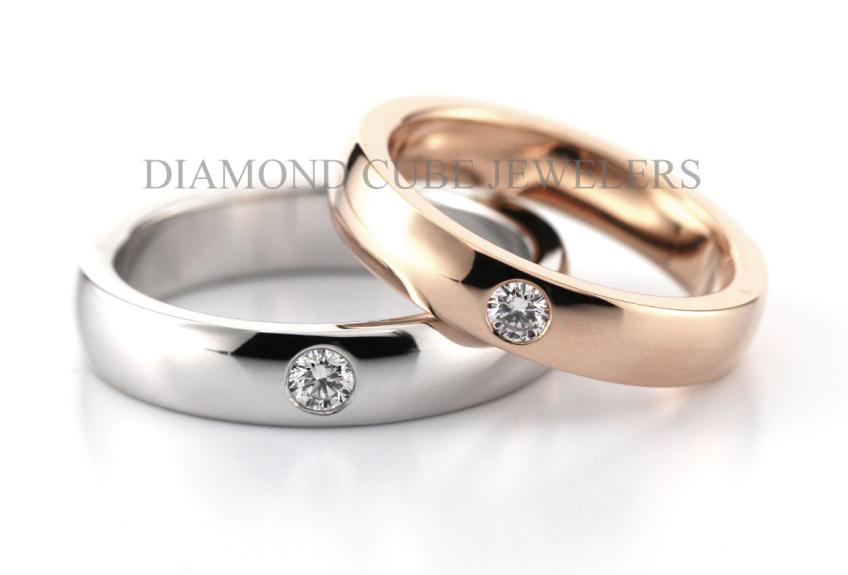 DIAMOND CUBE-2-婚戒首飾