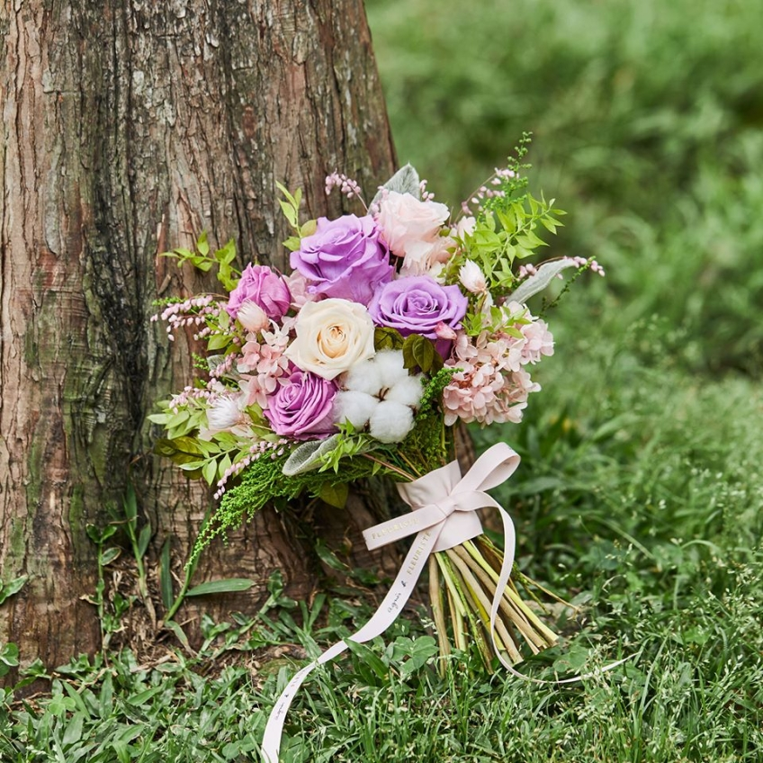 agnès b. Fleuriste (太古城中心)-1-婚禮當日