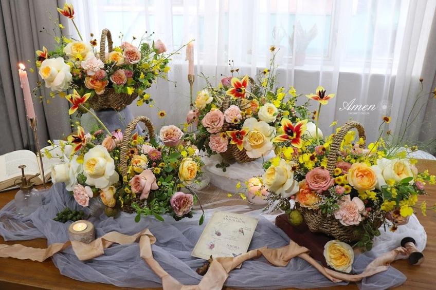Amen Florist & Decor-2-婚禮當日