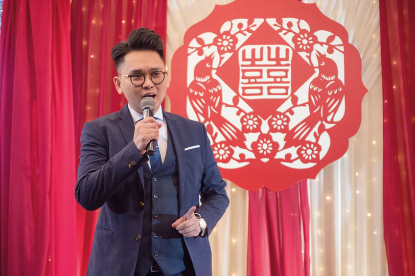 MC Leo Ho-3-婚禮當日