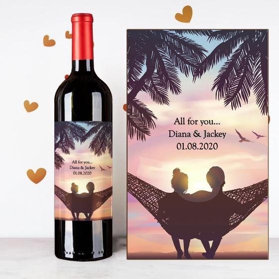 Design Your Own Wine 香港酒瓶雕刻-3-婚禮服務