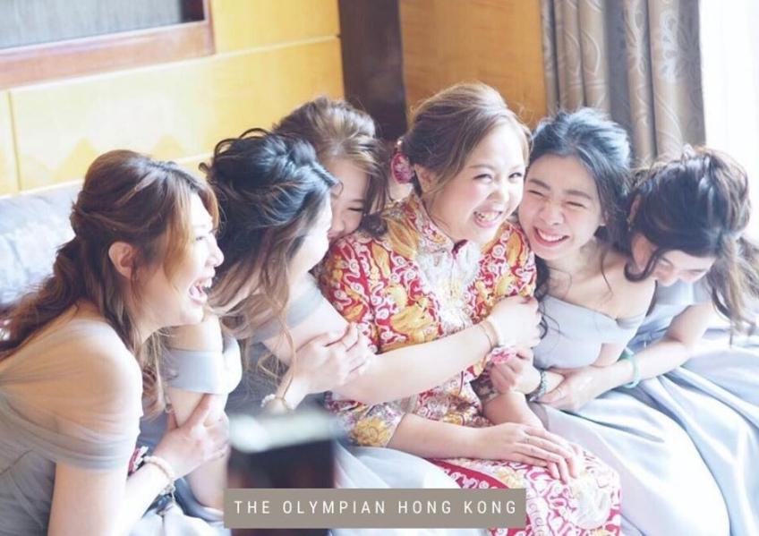 香港遨凱酒店 The Olympian Hong Kong-2-婚禮當日