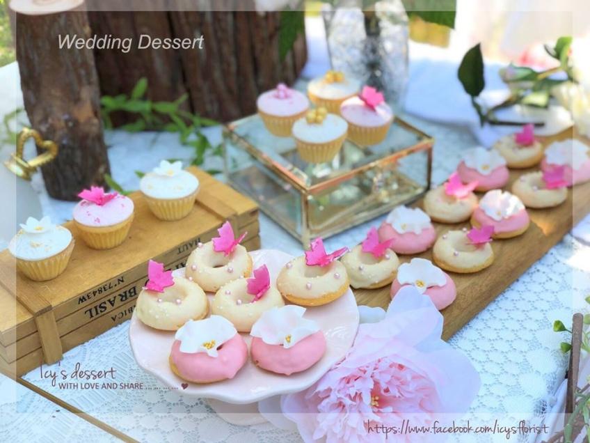 Icy's Florist- wedding cake, 3D cake, baby cake-0-婚禮當日