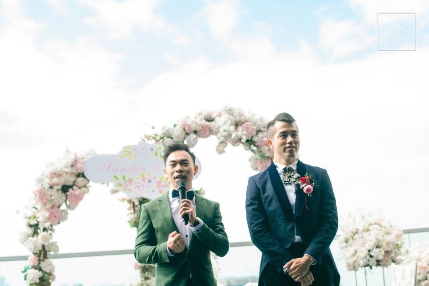 MC Peter Yuen-1-婚禮當日